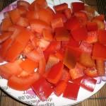 Перец и помидоры для пиццы