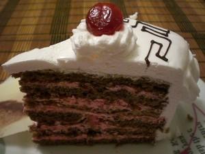 Торт Цезарь (кусочек)
