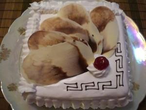 Вкусный торт Цезарь