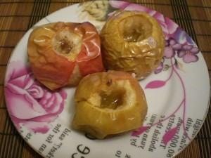 Вкусные печеные яблоки с медом