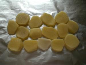 картофель под рыбу плотву