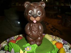 шоколадный мишутка