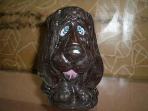 шоколадный песик