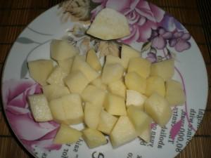 картофель и сельдерей на суп