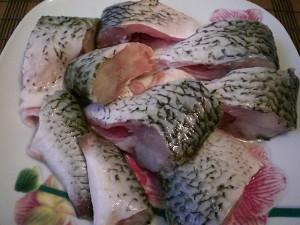 рыба кусочками для запекания