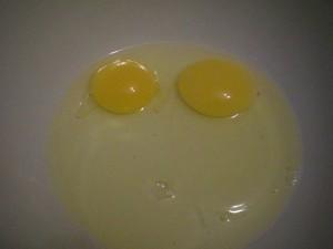 яйца на кляр