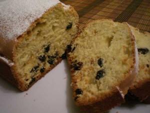 вкусный кекс с изюмом от Стефании