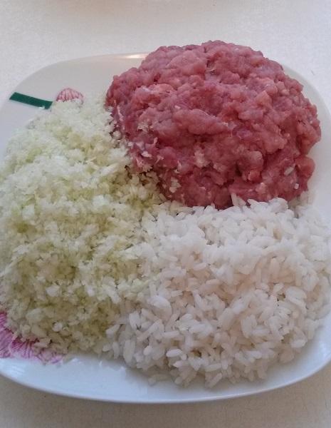Капуста фарш и рис в мультиварке рецепт пошагово